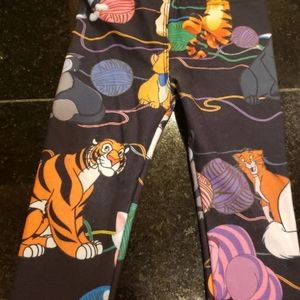 "Disney ""cats"" infant leggings"